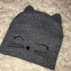 Grey Kitten Hat
